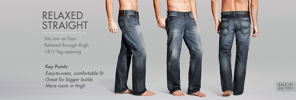 GUESS Denim Relaxed Straight