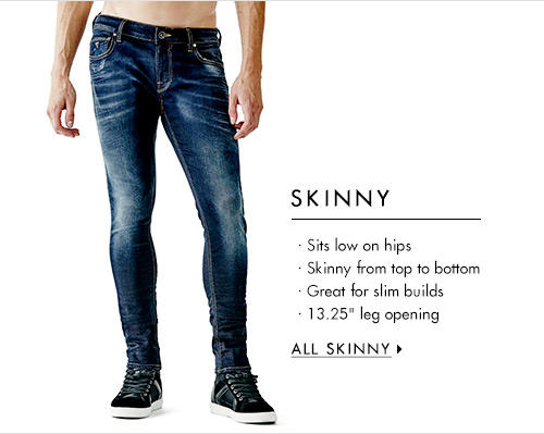 Men's Skinny Denim