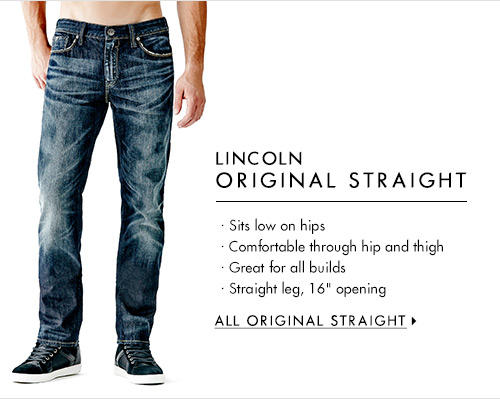 Men's Lincoln Original Straight Denim