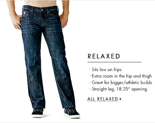 Men's Relaxed Denim