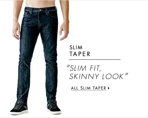 Men's Slim Taper Denim