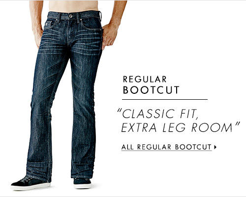 Men's Regular Bootcut Denim