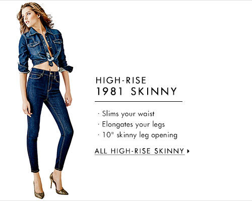 Women's High-Rise 1981 Skinny Denim