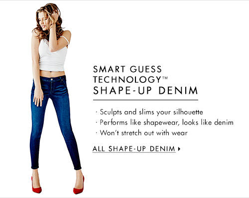 Women's SMART GUESS TECHNOLOGY™ Shape-Up Denim