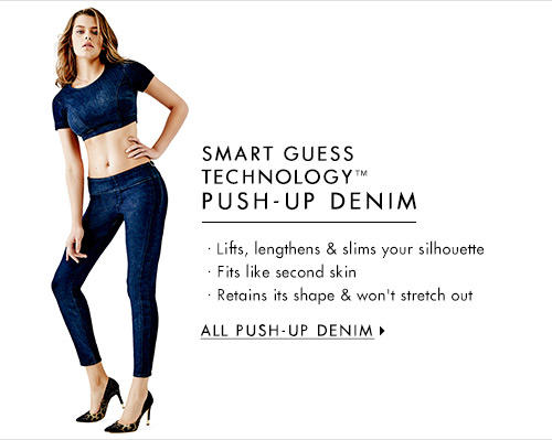 Women's SMART GUESS TECHNOLOGY™ Push-Up Denim