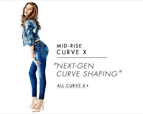 Women's Mid-Rise Curve X Denim