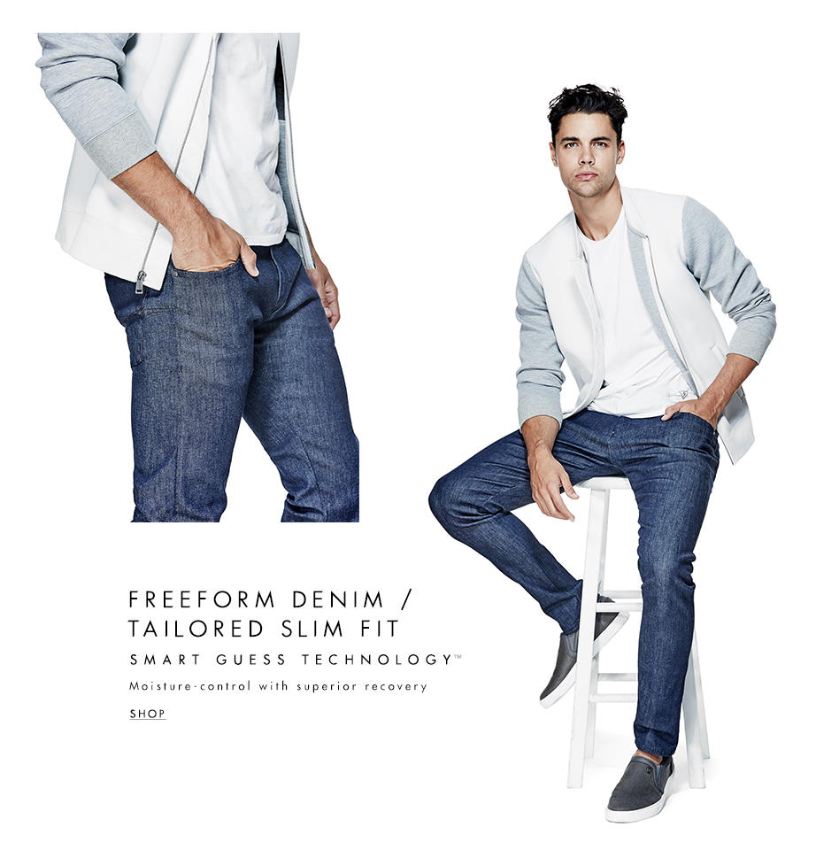 FREEFORM DENIM/ TAILORED SLIM FIT
