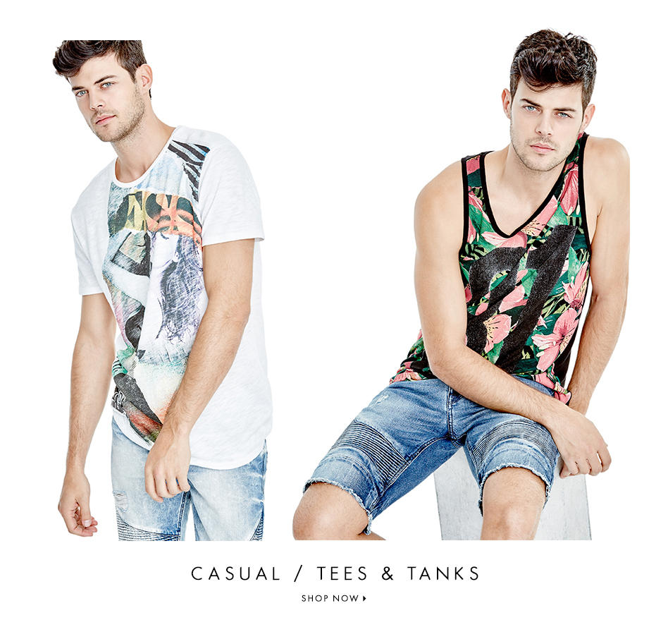 CASUAL / TEES & TANKS