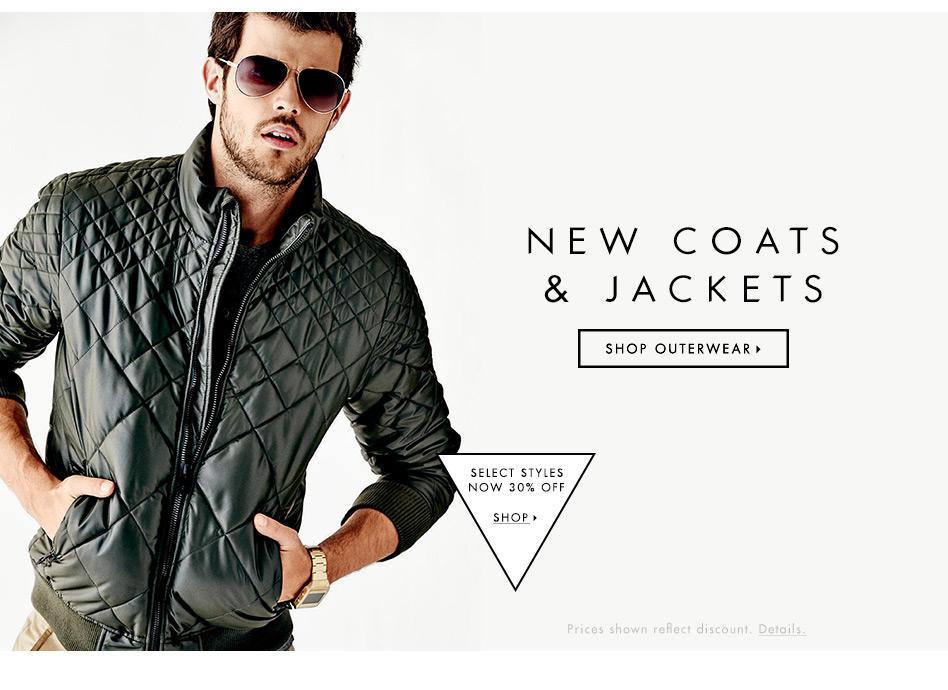 New Coats & Jackets