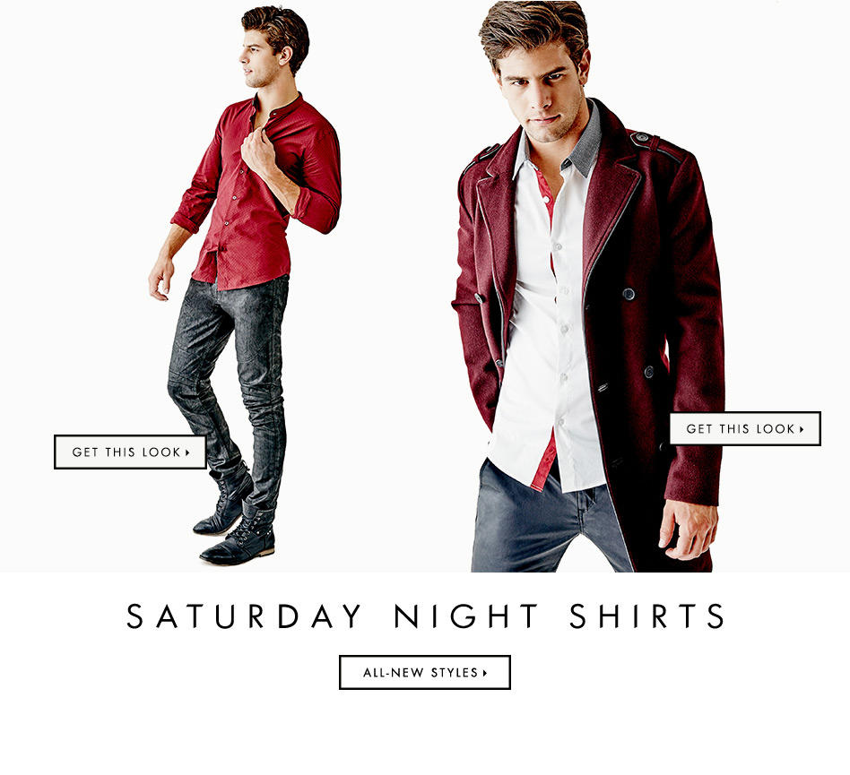 Saturday Night Shirts