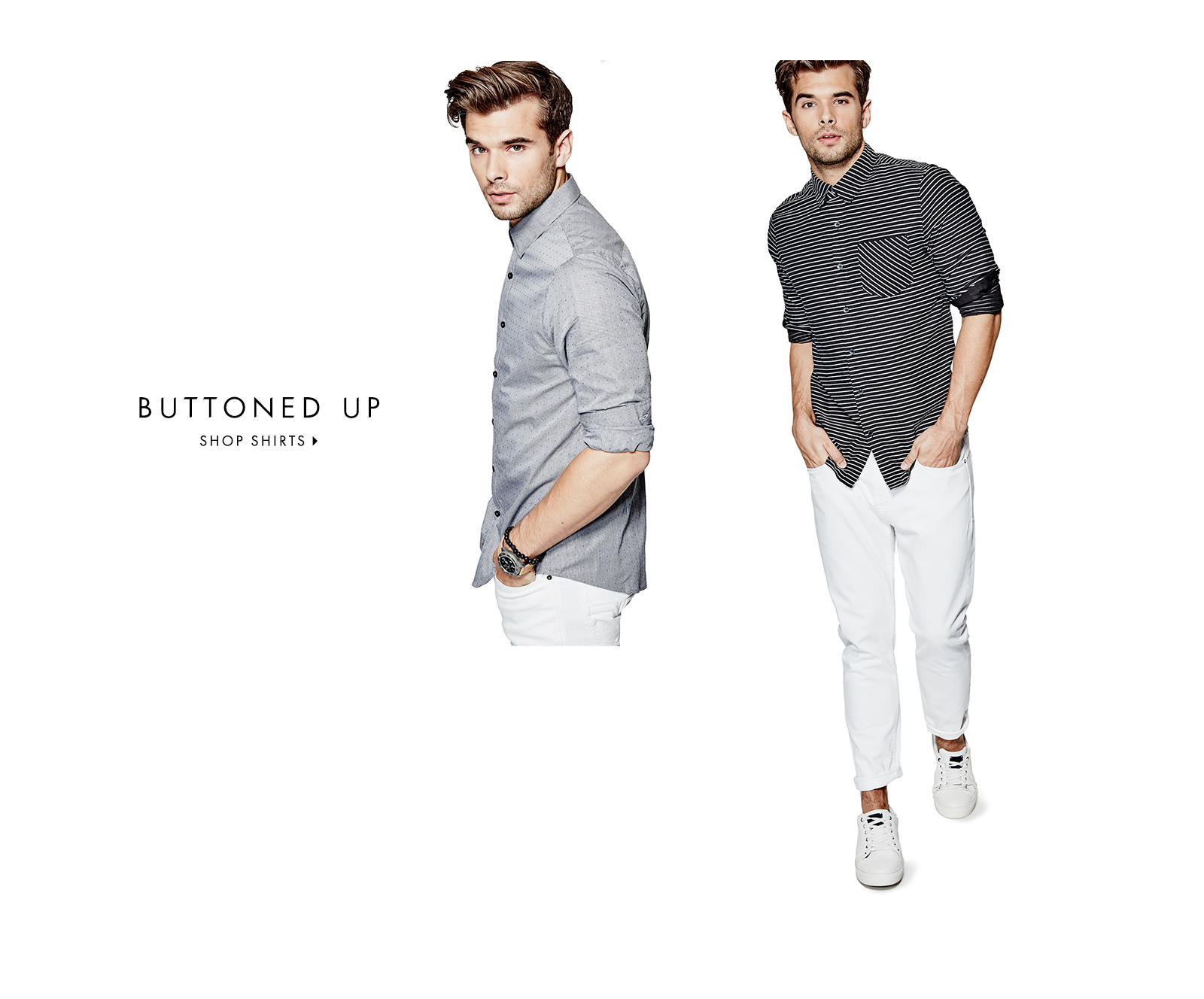 BUTTONED UP