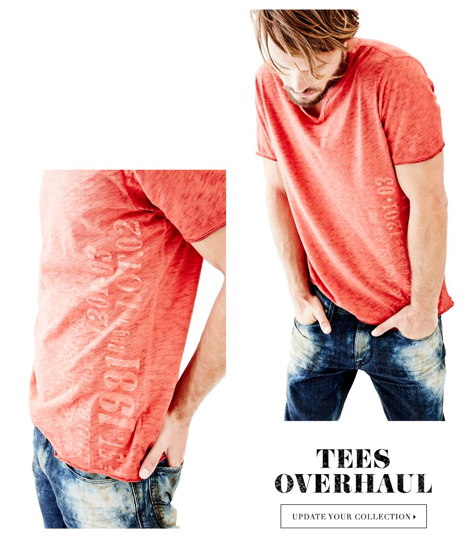 TEES OVERHAUL - UPDATE YOUR COLLECTION ▶