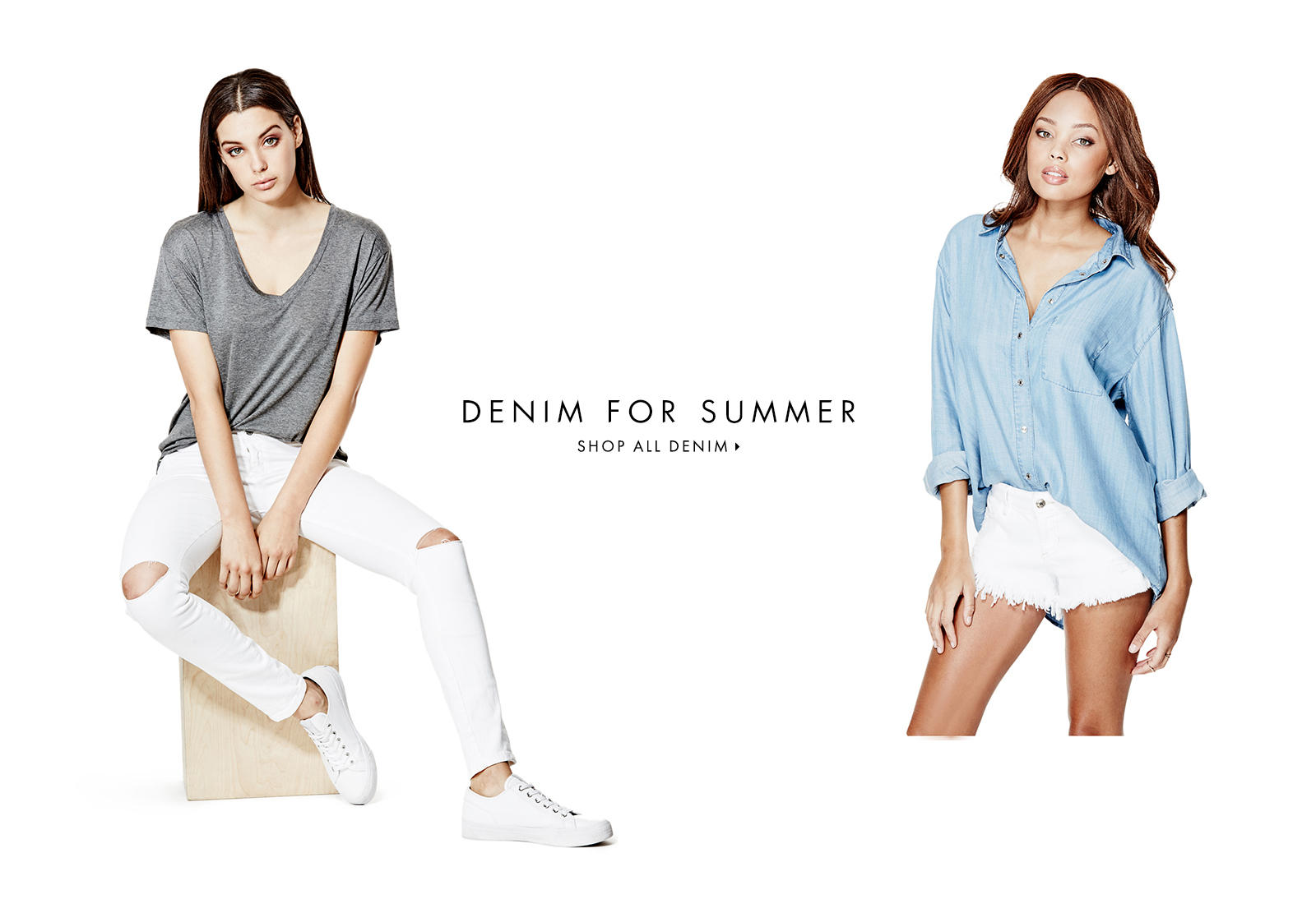 DENIM FOR SUMMER
