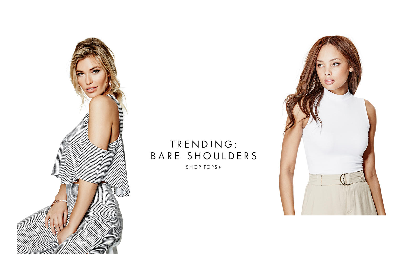 TRENDING: BARE SHOULDERS