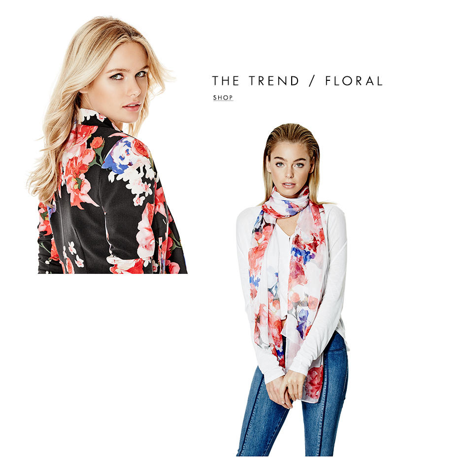 THE TREND / FLORAL