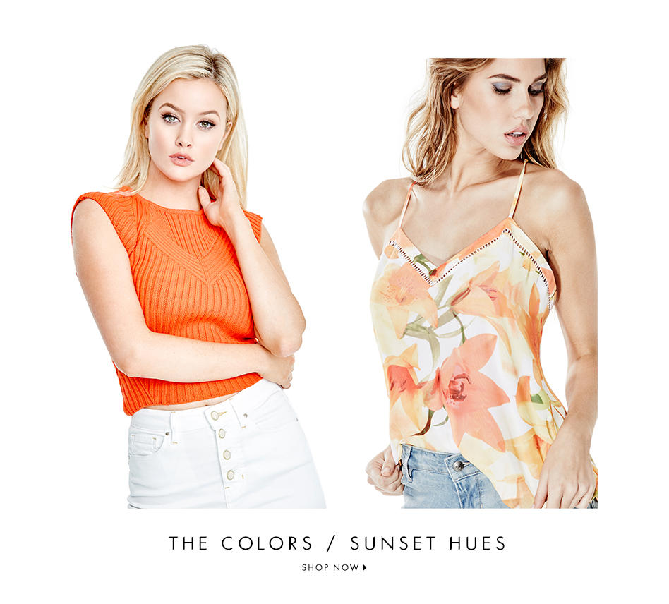THE COLORS / SUNSET HUES