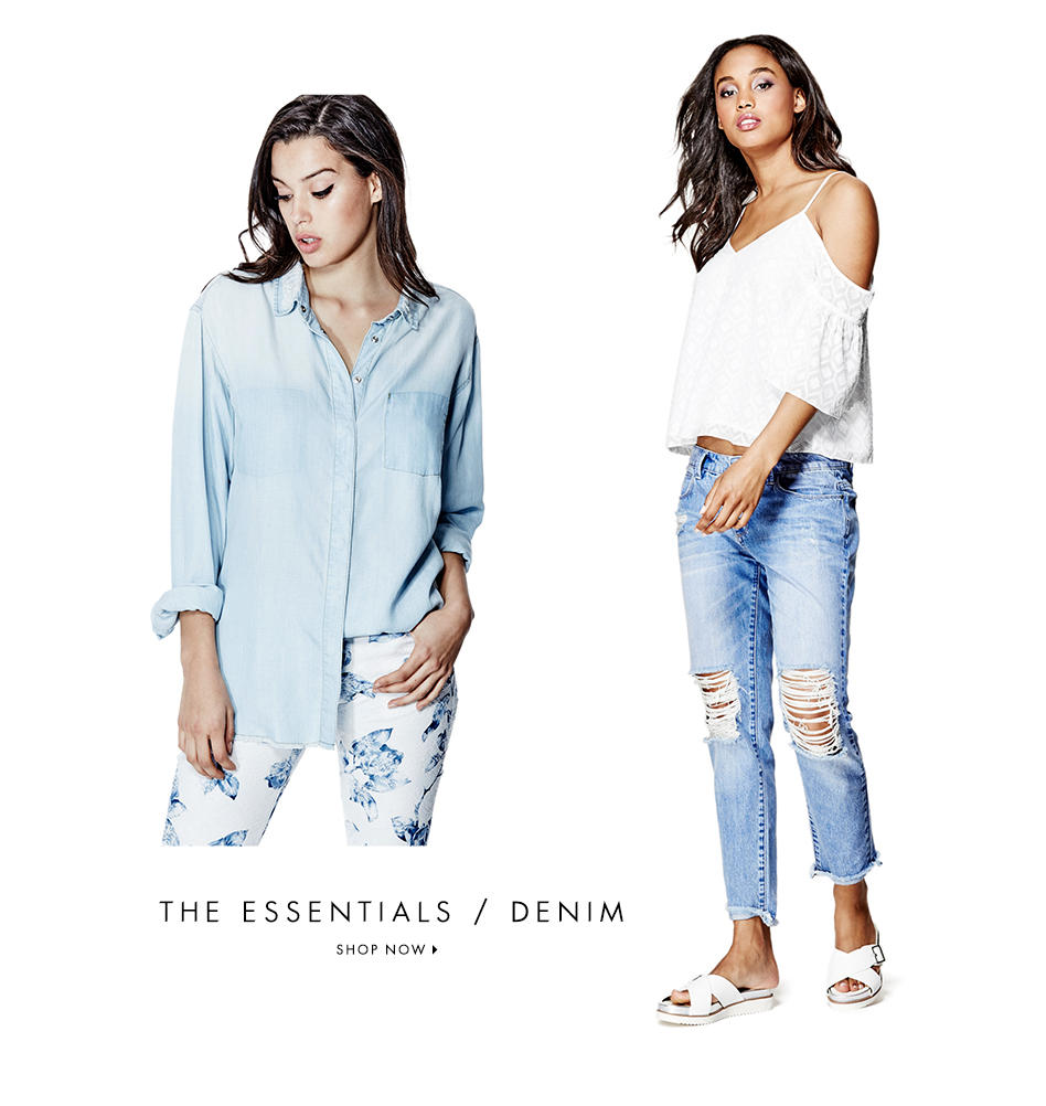 THE ESSENTIALS / DENIM