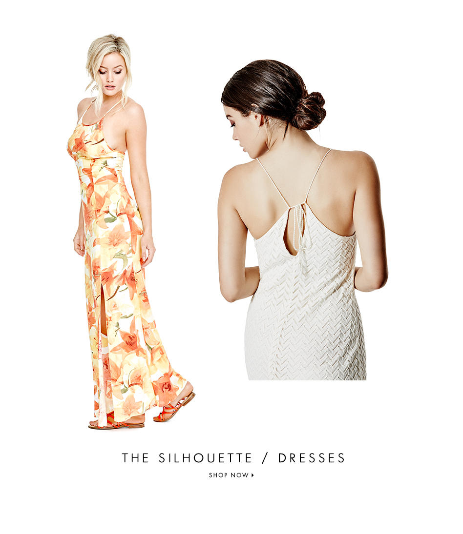 THE SILHOUETTE / DRESSES