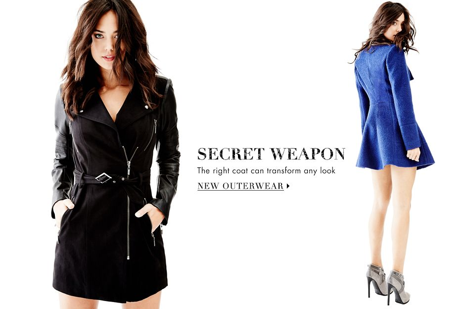 SECRET WEAPON - NEW OUTERWEAR ▶