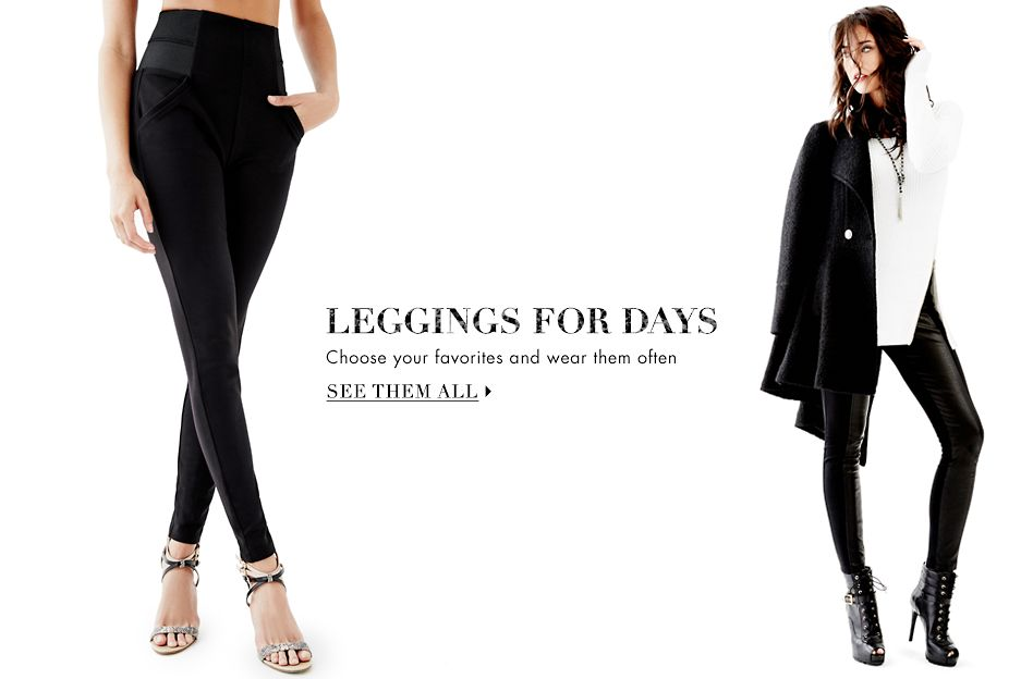 LEGGINGS FOR DAYS - SEE THEM ALL ▶
