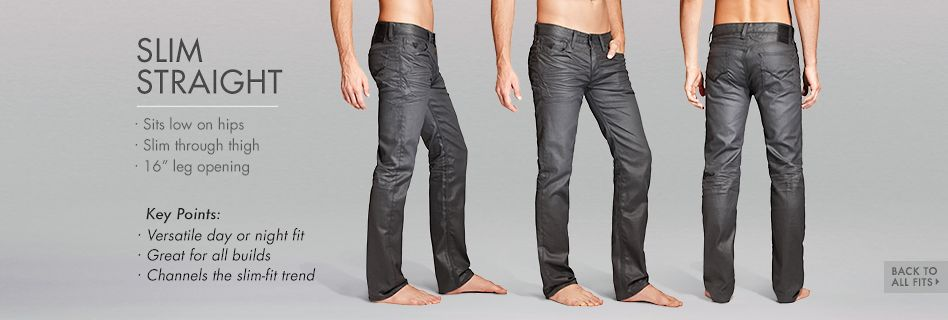 GUESS Denim Slim Straight