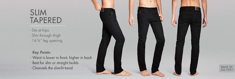 GUESS Denim Slim Tapered