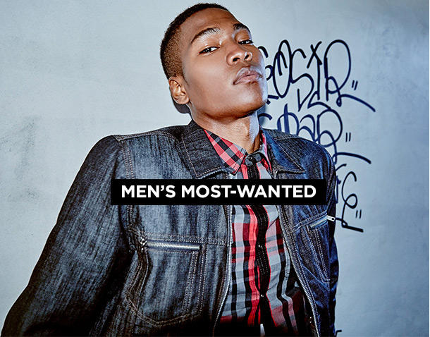 Men's Most Wanted
