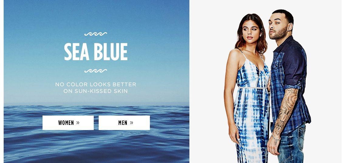Sea Blue Trend
