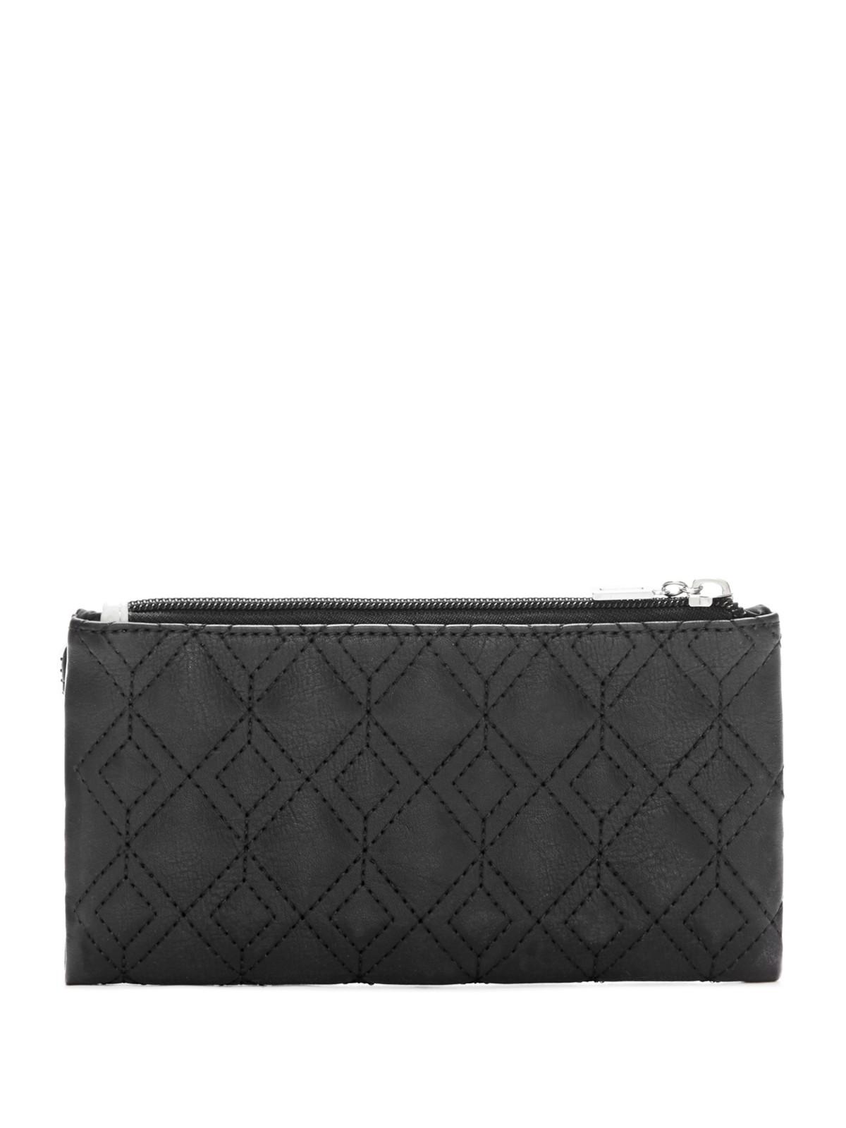 GUESS Women's Rose Bud Slim Snap Wallet