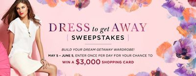 Dress to Getaway Sweepstakes