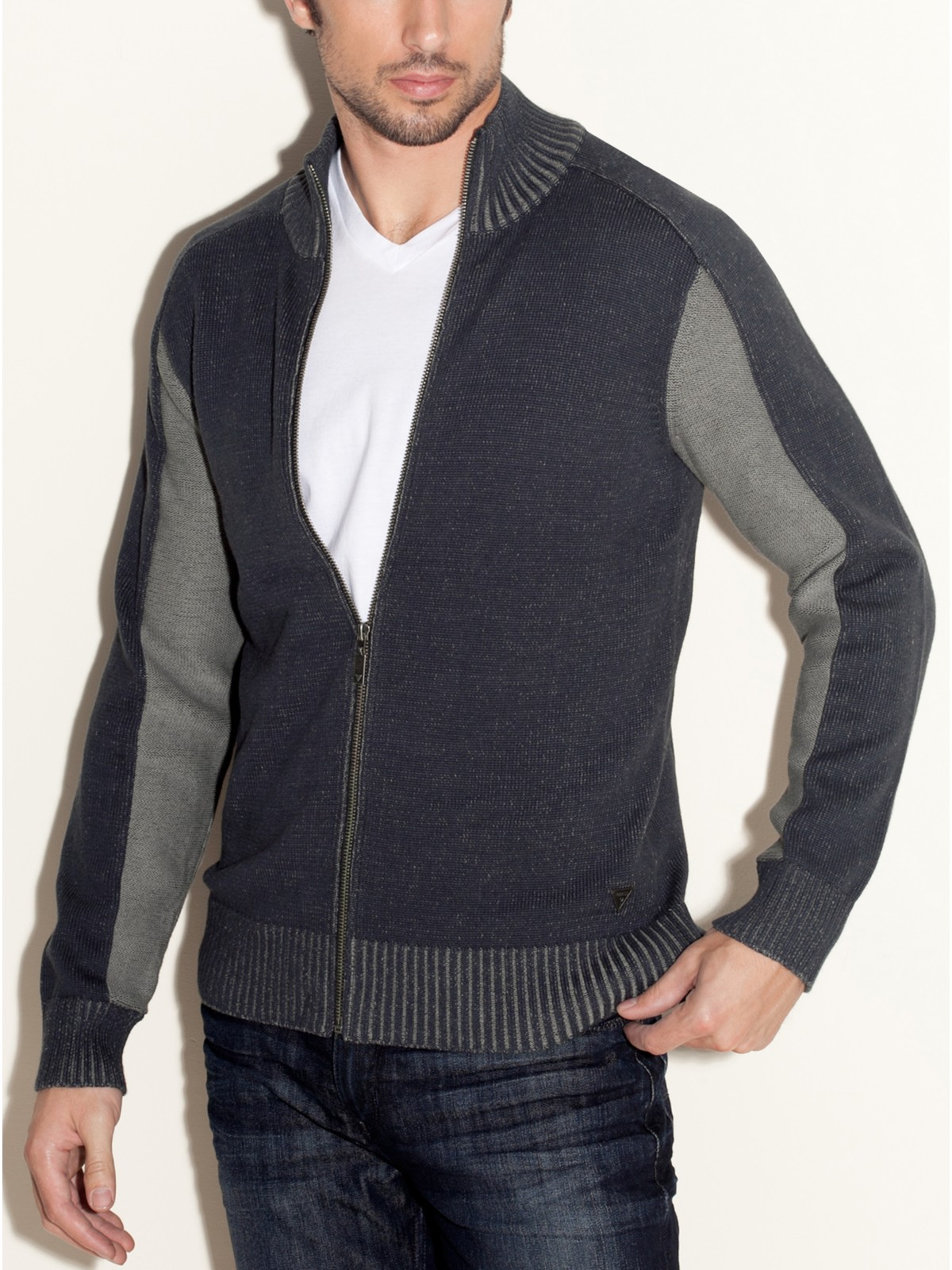 GUESS-Long-Sleeve-Dawson-Sweater-Full-Zip