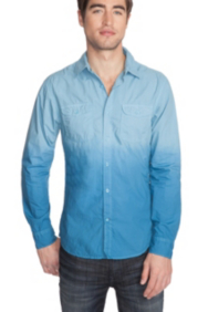 Laguna Long-Sleeve Dip-Dyed Shirt
