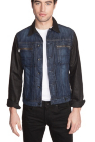 Denim Jacket in Banter 2 Wash