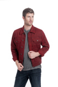 Morley Sueded Denim Jacket
