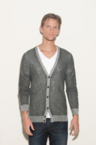 Cooke Long-Sleeve Cardigan