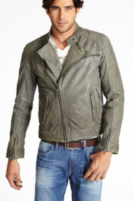 Concrete Leather Jacket