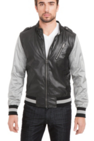 Ciré Blocked Baseball Jacket