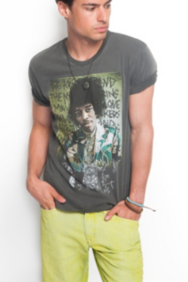 The Festival Collection - Jimi Hendrix Crewneck Tee