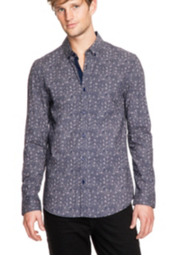 Dean Smart Slim-Fit Shirt in Ashton Floral