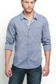Clark Long-Sleeve Slim-Fit Shirt