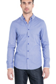 Landen Shirt in Dean Smart Slim Fit