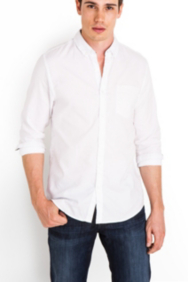 Rogan Long-Sleeve Slim-Fit Shirt