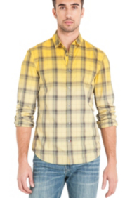 Harold Dip-Dye Shirt in Dillon Slim-Fit