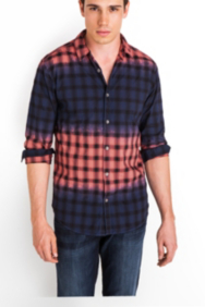 Tidal Check Long-Sleeve Slim-Fit Shirt