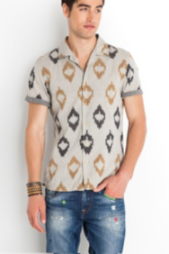 The Festival Collection - Short-Sleeve Indio Shirt