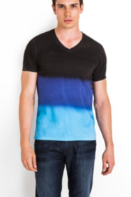 Hart Multicolor V-Neck Tee