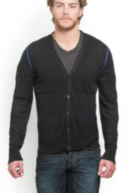 Spencer Long-Sleeve Cardigan
