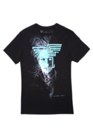 Tiesto NYT LYF Collection – Neon Mask Crewneck Tee