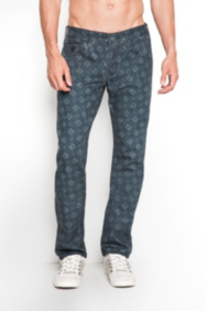 Vermont Printed Jeans in Archeo Wash, 32 Inseam