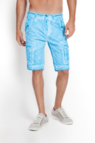 Safari Pigment Tumbled Cargo Shorts